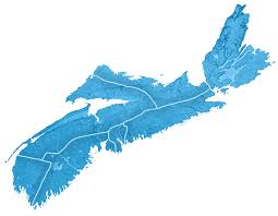 Map Of Nova Scotia Ns Approved