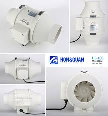 75mm 2 speed inline exhaust fans for bathroom exhaust ventilating
