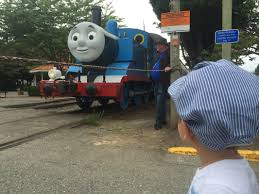2012 thomas the tank engine arrives in north bend by truck