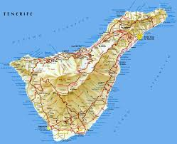 Canary Islands Map Tenerife Map Tenerife Island Maps Map Of Tenerife