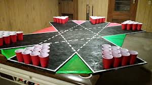 Custom Beer Pong Tables by For My Birthday I Made 6 Way Beer Pong Table Imgur