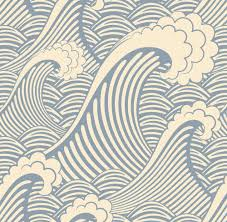 waves wallpaper for walls home design ideas