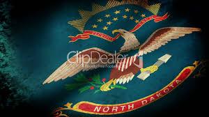 North Dakota travel symbols images North dakota state flag waving grunge look royalty free video jpg