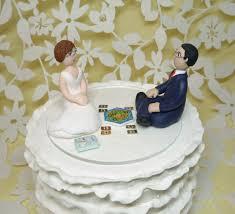 dr who wedding cake topper custom wedding cake topper and groom gamer catan board