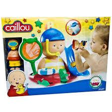 caillou bath playset toys