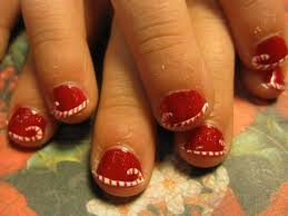 Christmas Light Nails by Christmas Nail Pictures How You Can Do It At Home Pictures