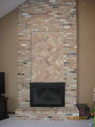decorations brick fireplace makeover ideas design faux wood loversiq