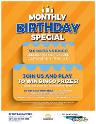 is thanksgiving always the last thursday of the month six nations bingo hall guaranteed prizes guaranteed fun