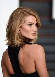 rosie huntington side parted lob rosie huntington whiteley hair bob google search hair