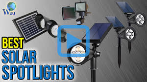 Top Rated Solar Landscape Lights by Top 10 Solar Spotlights Of 2017 Video Review