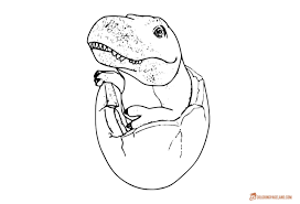rex coloring pages free printable images coloring