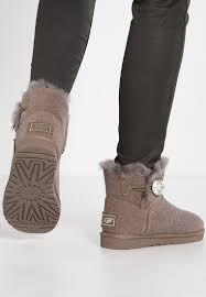 s grey ankle ugg boots styles s ankle boots ugg mini bailey button