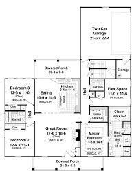 Briarwood Homes Floor Plans The Briarwood 7642 3 Bedrooms And 2 5 Baths The House Designers