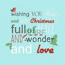 wishing you bright and merry of peace and