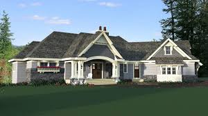 4 bed 4 bath craftsman for a sloping lot 14652rk architectural