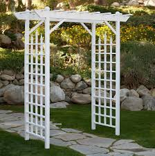 Garden Trellis Archway Amazon Com Pergola Arbors Ideal For Garden A Wedding Entry Way