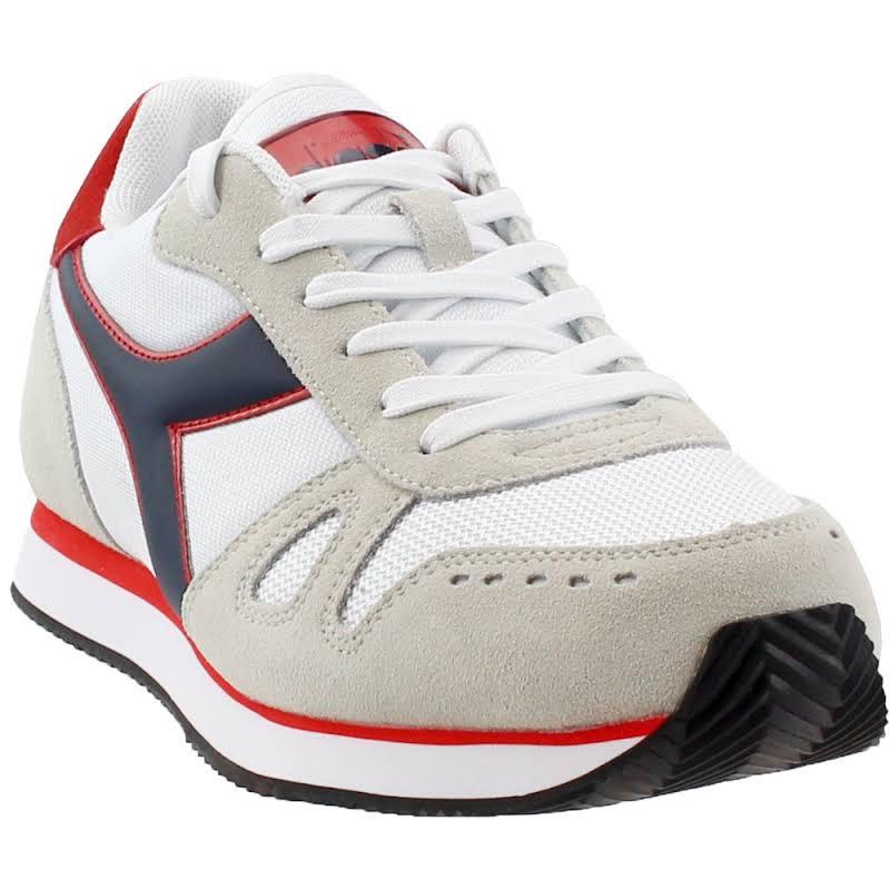 Diadora Simple Run Running Shoes White- Mens