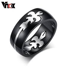 cool rings for men top cool men black rings new fashion stainless steel freedom party
