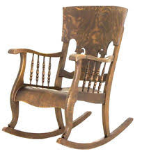 Vintage Rocking Chairs Oak Rocking Chairs Antique Furniture Ebay