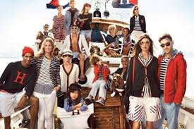 nautical chic attire striped nautical caigns hilfiger summer