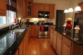 oak cabinets with granite black granite kitchen countertops oak cabinets google search nurani