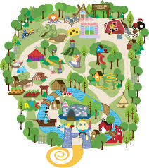 Pennsylvania Attractions Map by Attractions Fairytale Town