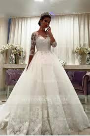 princess wedding dresses uk 3 4 length sleeve wedding dresses and bridal collection 2018