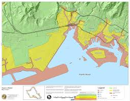 Harbor College Map Hawaii State Tsunami Evacuation Maps