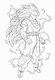 pin dragon ball coloring pages