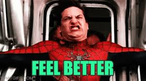 Meme Tobey Maguire - tobey maguire feel better gif find download on gifer