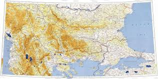 Thessaloniki Greece Map by Download Topographic Map In Area Of Istanbul Sofia Skopje