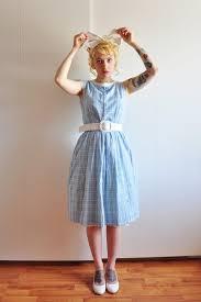 light blue vintage dress chictopia