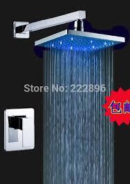 Bathroom Lighting Color Temperature Led Light 3 Color Temperature Sensor Bathroom Shower Faucet Bath