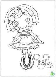 lalaloopsy dolls coloring pages lalaloopsy dolls
