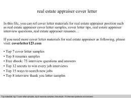 Commercial Real Estate Resume Real Estate Appraiser Resume Real Estate Appraiser Resume