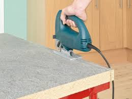 Saw For Cutting Laminate Flooring How To Install A Countertop How Tos Diy
