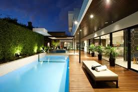 pool area trendy melbourne residence dazzles with a lavish pool area best of