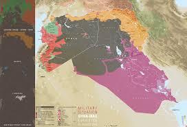 Damascus Syria Map Military Situation Syria Iraq And Kurdistan Vivid Maps