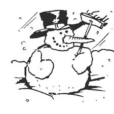 winter snowman coloring pages print winter coloring pages