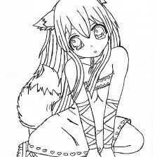 anime coloring pages coloring