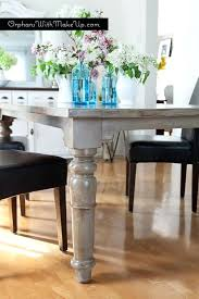 Grey Rustic Dining Table How To Make A Rustic Dining Room Table U2013 Mitventures Co