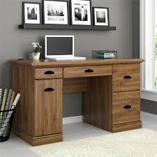 Walmart Desk Computer Better Homes And Gardens Computer Desk Brown Oak Walmart