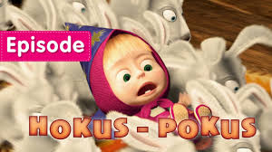 masha bear hokus pokus episode 25 video kids