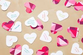 conversation heart you ll fall heels for our conversation heart confetti