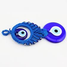20cm macrame turkey evil eye amulet hanging ornament nazar home