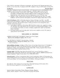 brilliant ideas of chief of staff resume sample also template