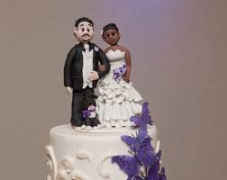 nurse and a firefighter wedding cake topper personalized