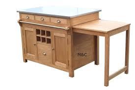 ilot de cuisine en bois ilot de cuisine cagne