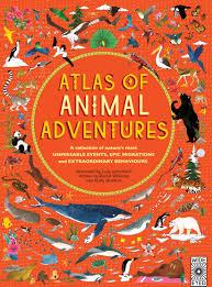 kid lit review of u201catlas of animal adventures u201d by rachel williams