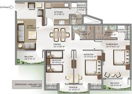 floor layout plans lotus panache noida